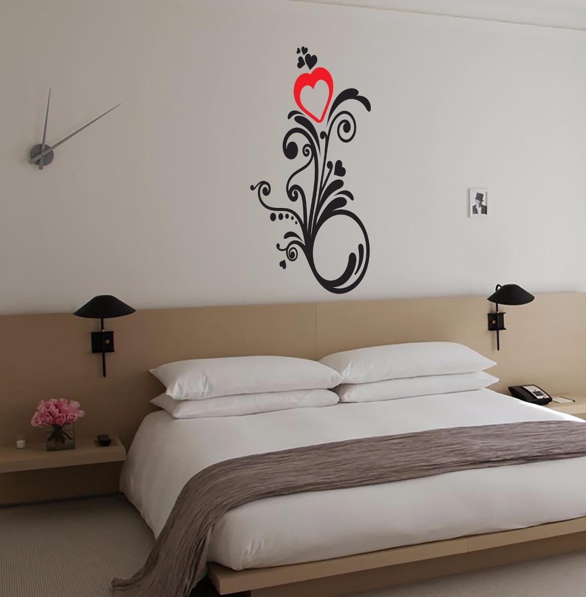 Vinilos decorativos habitacion matrimonio cama - Vinilos decorativos habitacion ...