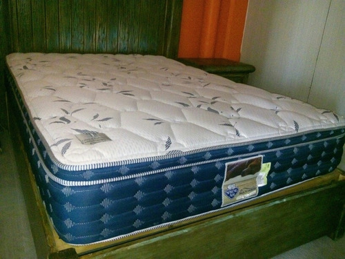 cama matrimonial rustica