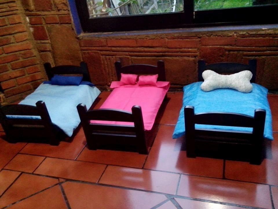 Cama miniatura de lujo para perros mascotas en mercado libre - Como hacer una cama de hotel ...