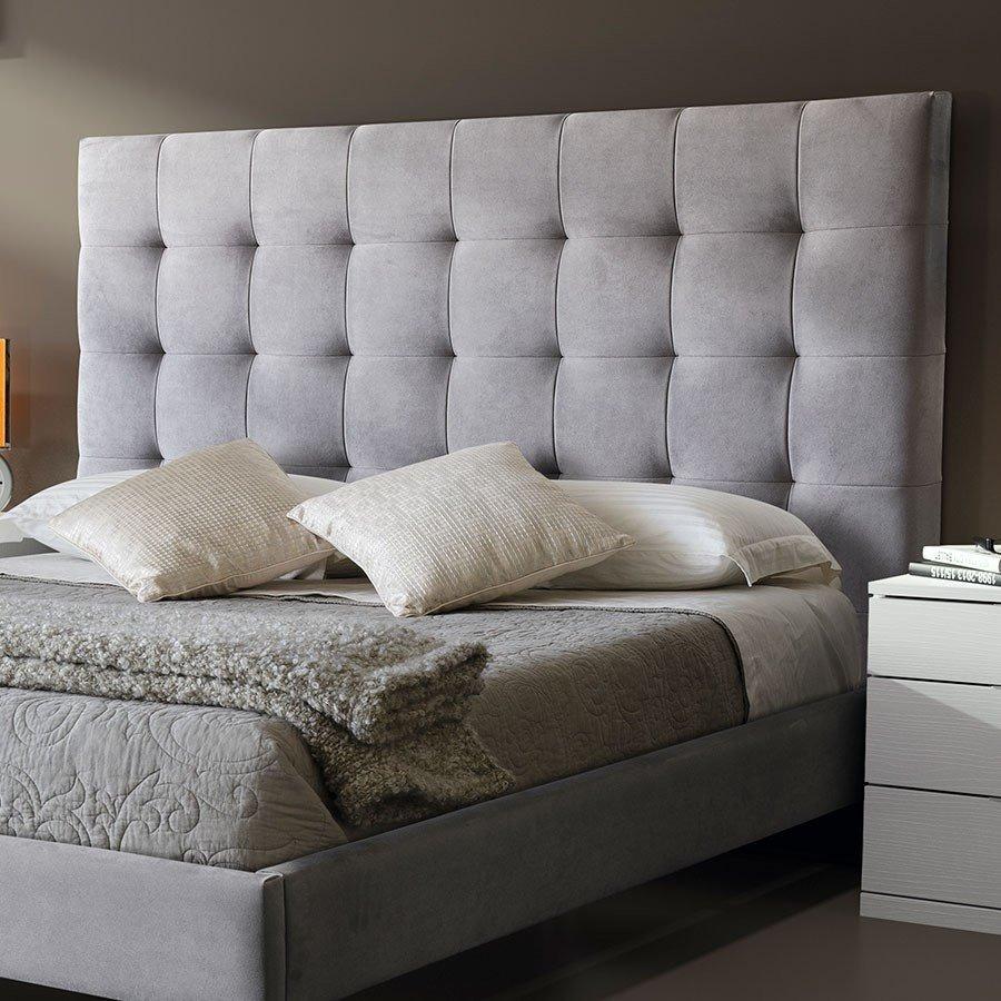 Cama moderna base capitoneado cuadros colchon - Cuadros como cabeceros de cama ...