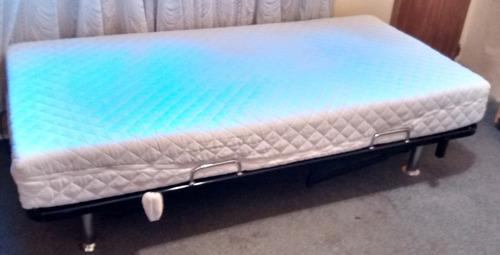 cama motorizada con colchón