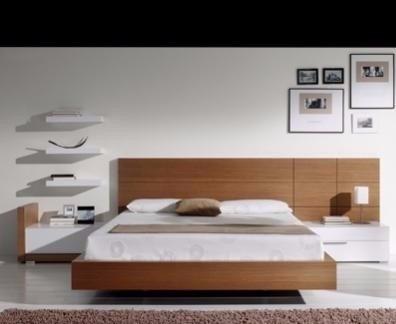 Respaldo P/somiers Cama Dormitorio,modelo Kano, Muebles Ryo ...