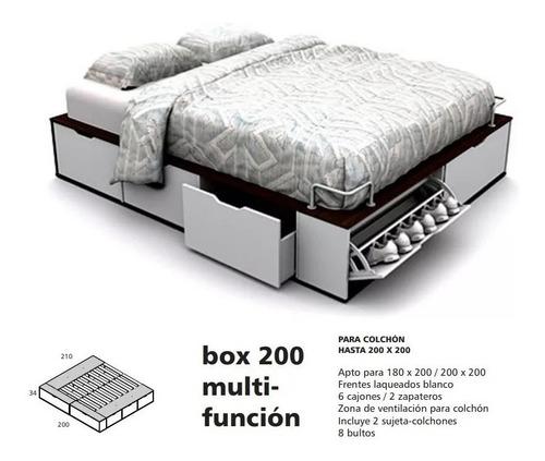 cama multifuncion king size 200x200 la valenziana babymovil