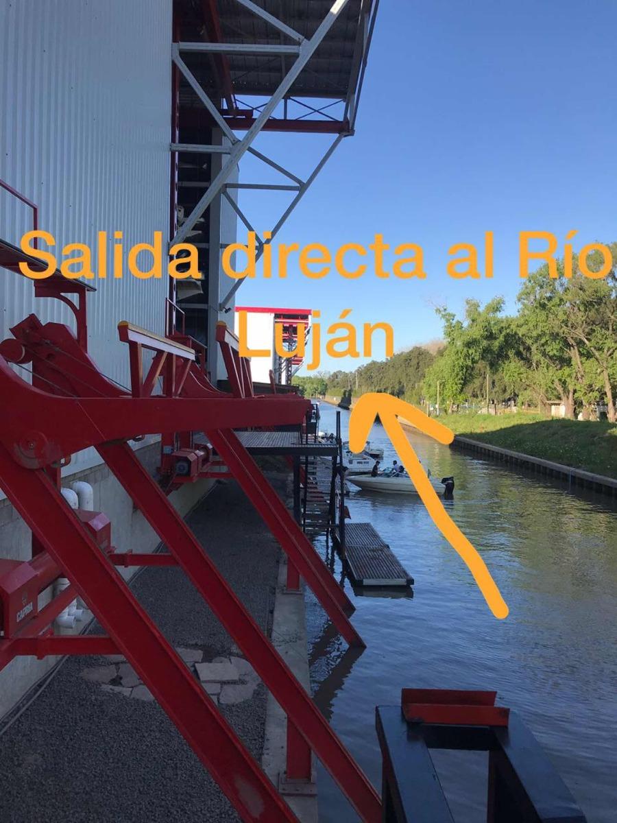 cama náutica 18 pies - salida al río luján - delta marina