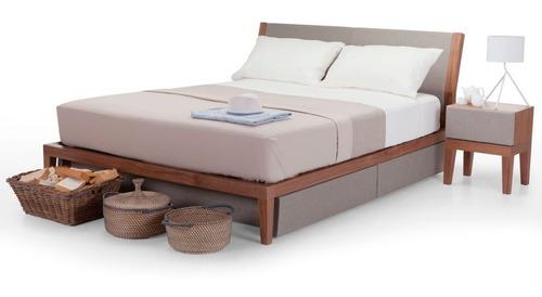 cama new york matrimonial madera tropical - madera viva