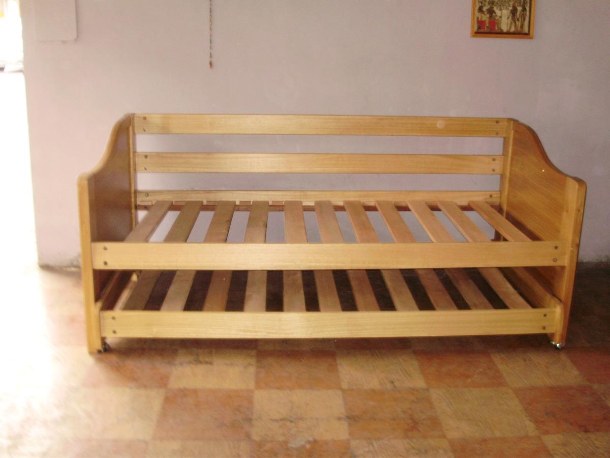 Cama nido 1pl tipo sof en mercado libre for Sofa cama 1 plaza chile
