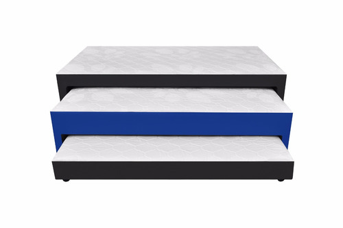 cama nido 3 niveles120x190+colchones aux+almohadas+envio btá