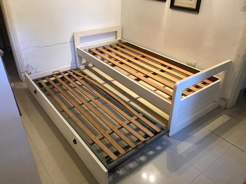 cama nido de cedro macizo