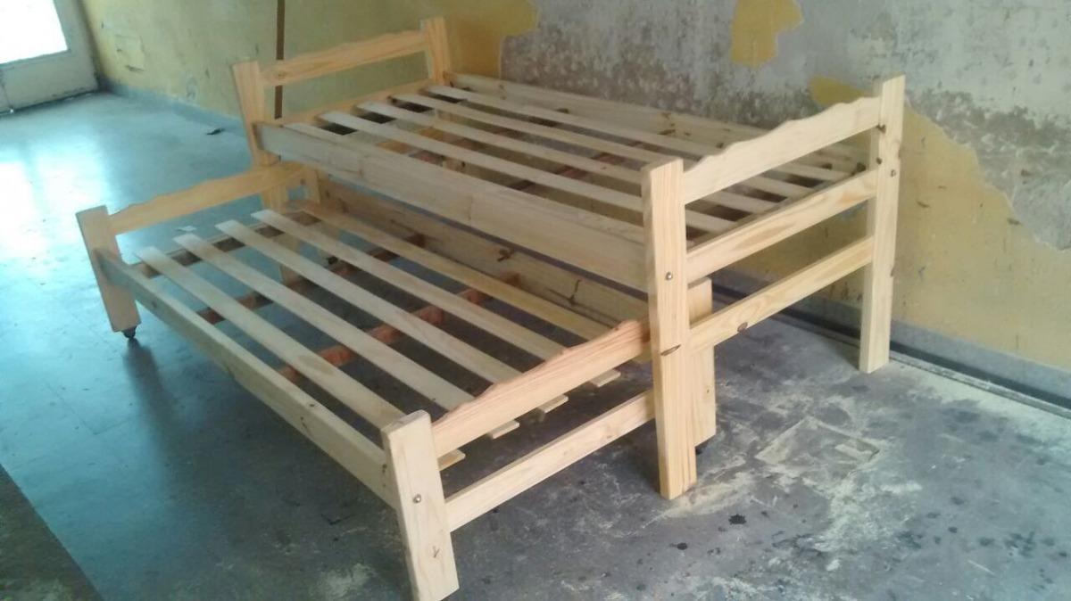 Cama Nido De Dos Camas Todo Para Tu Dormitorio En Mercado Libre  # Muebles Nido De Abeja