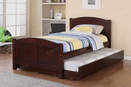 cama nido individual twin # 9210. oferta del mes negro!!!!!!