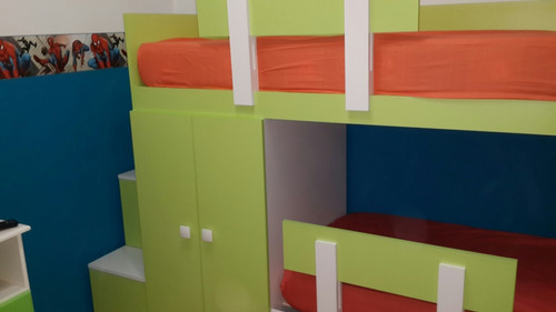 cama nido infantil juvenil cucheta triple o con 2 cajones