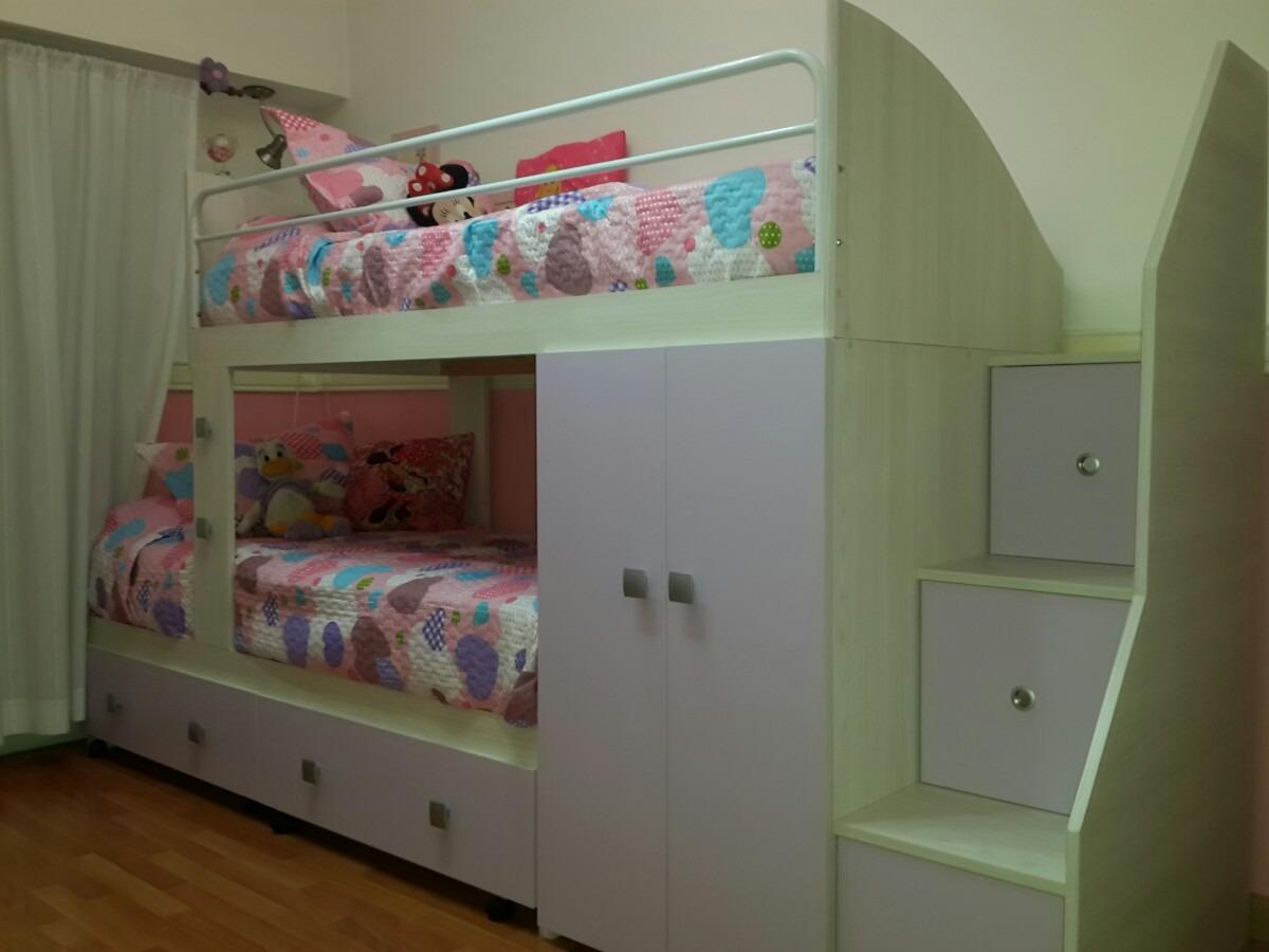 Cama Nido Infantil Juvenil Cucheta Triple O Con 2 Cajones  ~ Camas Infantiles Con Cajones Debajo