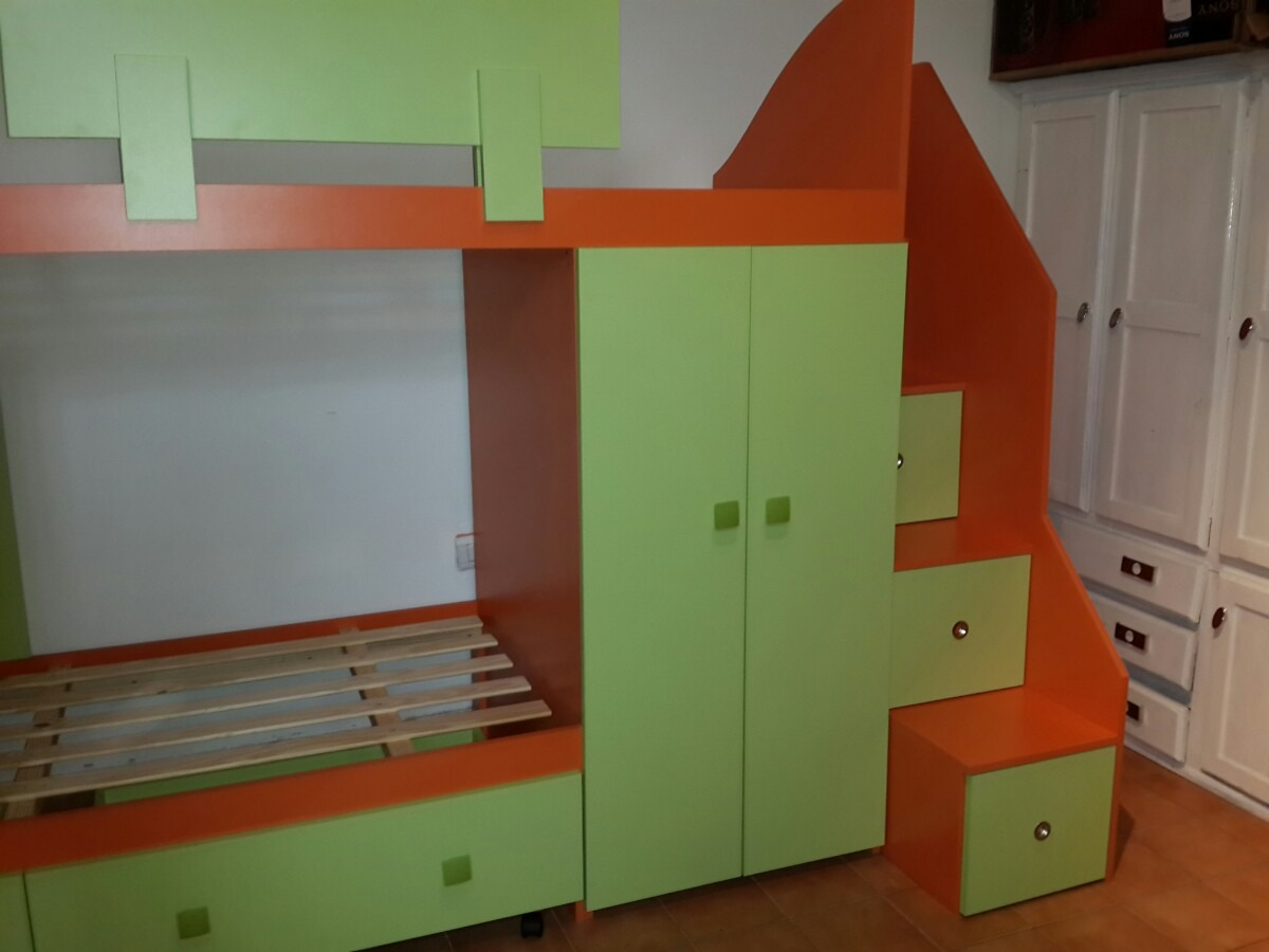 cama nido infantil juvenil cucheta triple o con cajones