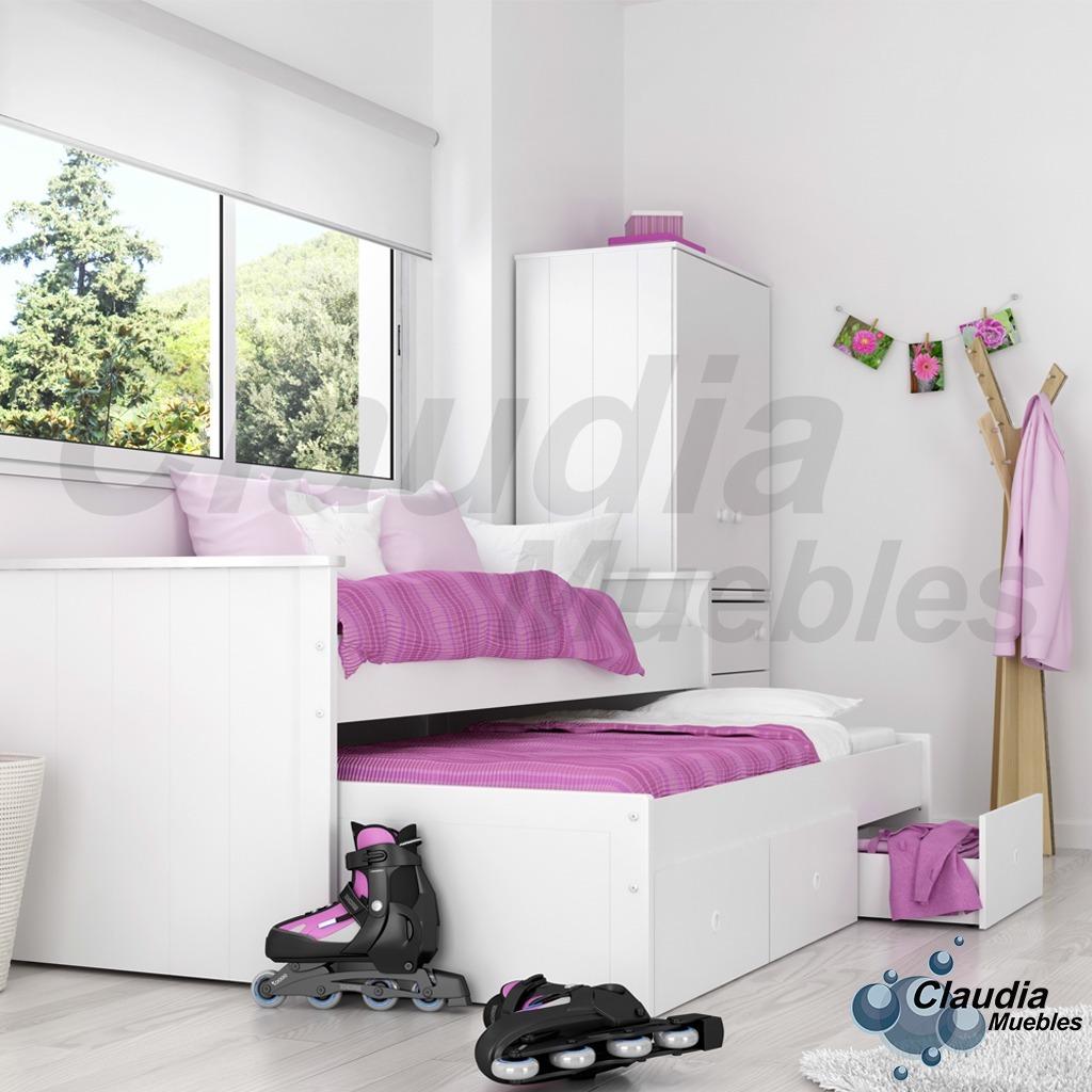 Excelente Muebles Bajos Cama Blanca Embellecimiento - Muebles Para ...