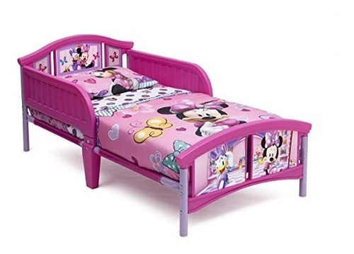 cama niña minnie mouse disney toddler msi