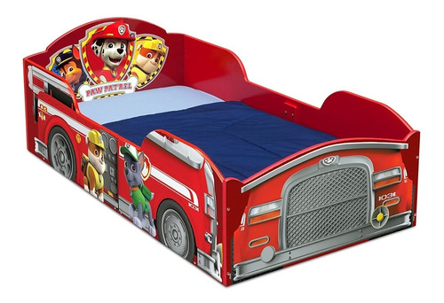 cama niño madera paw patrol toddler