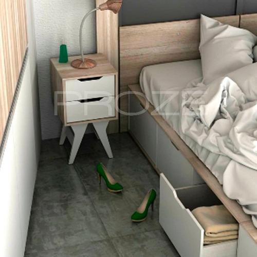 cama nordica 1 1/2 con 3 cajones  botinero zapatero baulera