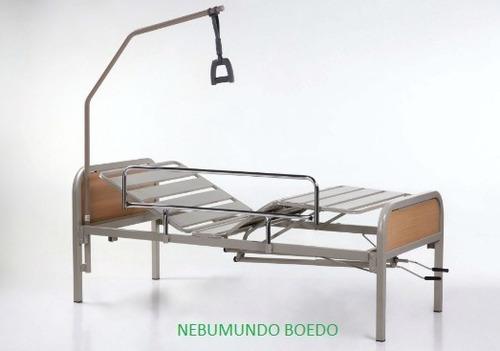 cama ortopédica - alquiler - incluye colchón de poliuretano!