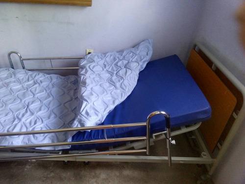 cama ortopédica : con 2 cochones control remoto 5 posisione