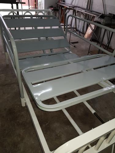 cama ortopédica con baranda y colchón hospitalario nuevas!