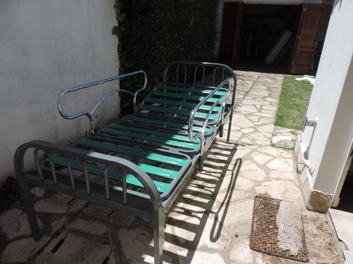 cama ortopédica con barandal usado como nuevo z. sur adrogue