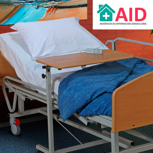 cama ortopedica electrica con barandas alquiler