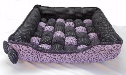 cama para cachorro / gato tam. g - antialérgica