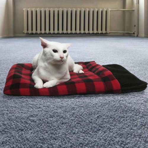 cama para gatos autocalentable  alfombrilla térmica pa...