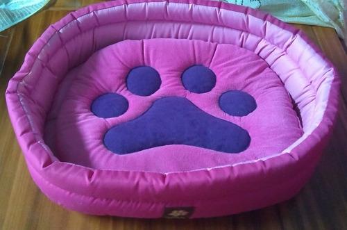 cama para gatos fucsia