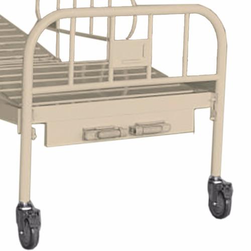 Cama para hospital manual con ruedas 8 en - Ruedas para cama ...
