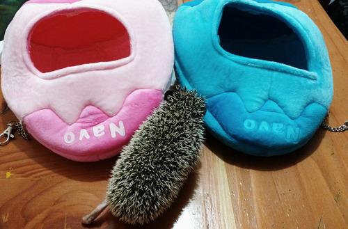 cama para mascota erizo conejo cuyi marca navo