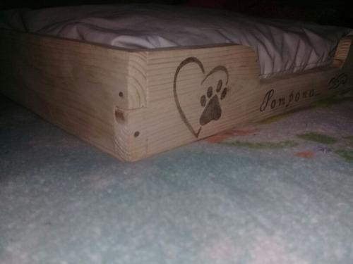 cama para mascotas rústicas