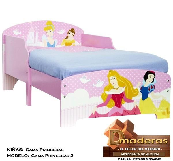 Cama para ni as modelo princesas pr2 bs en - Camas de princesas para nina ...