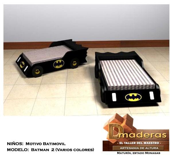 cama para nios tipo batimovil el carro de batman