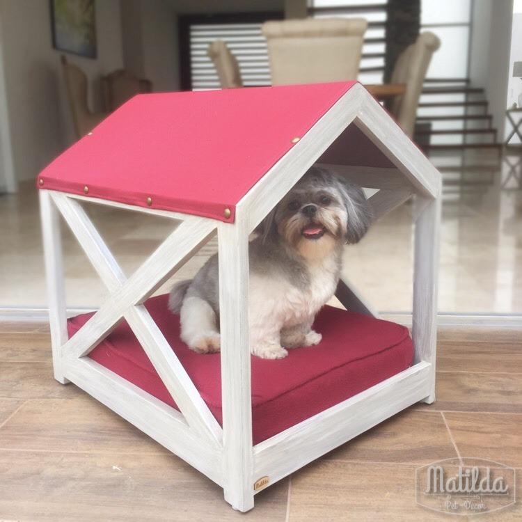 Cama para perro de madera para exterior 2 en - Camas para perros de madera ...