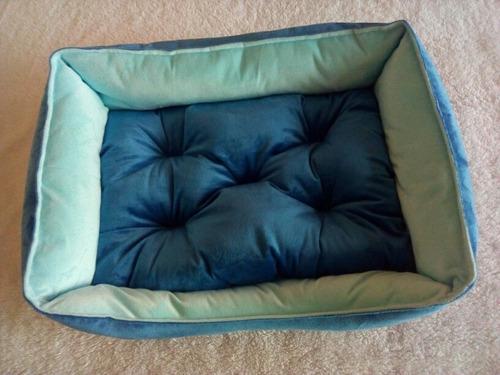 cama para perro gato mascota material antialérgico
