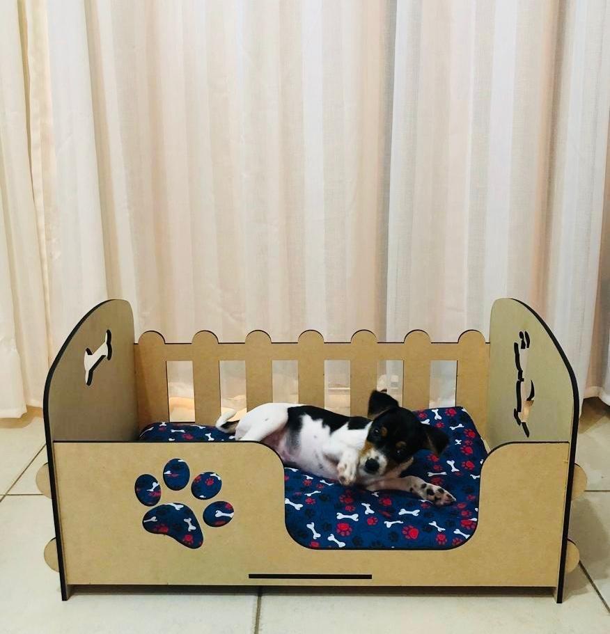 abd167cd58 Cama Pequena Berço Pet Cachorro