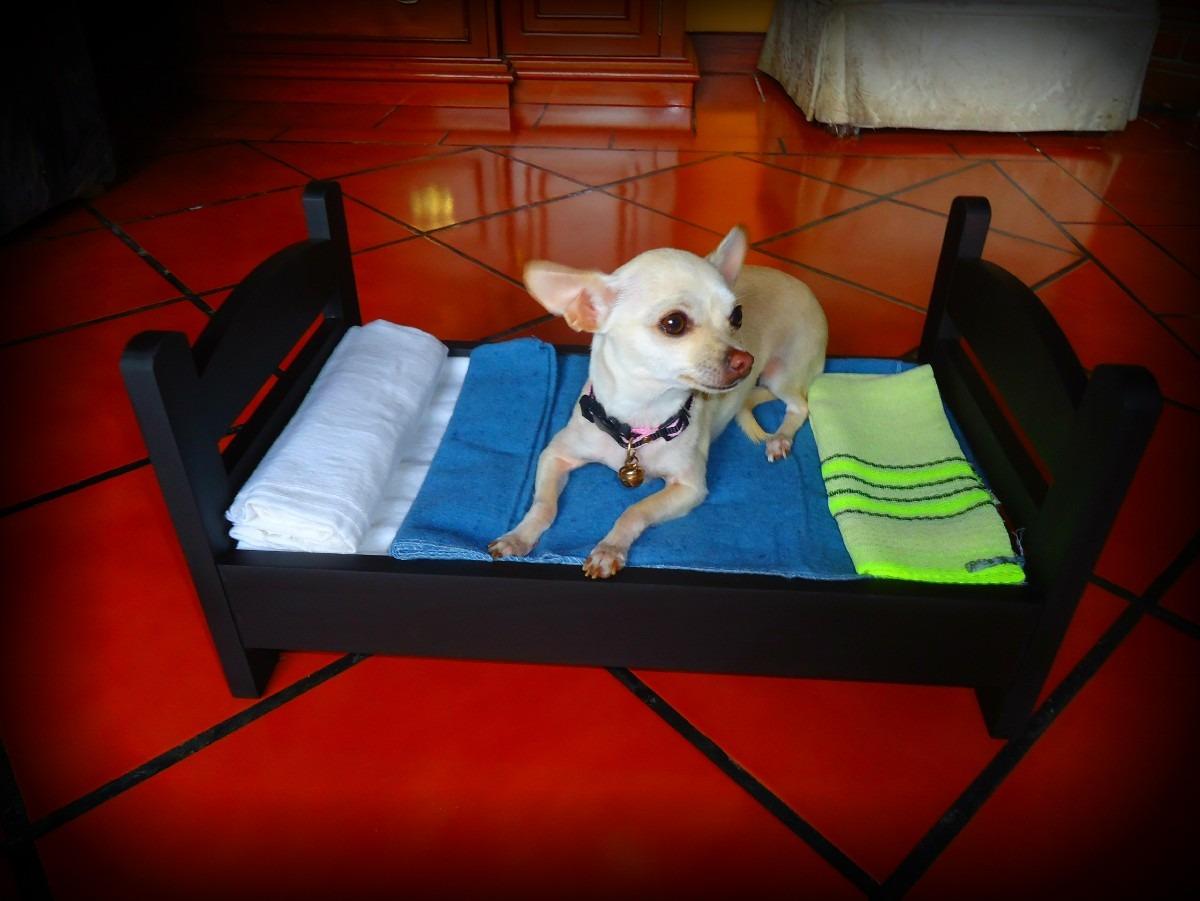 Cama miniatura de lujo para perros mascotas - Camas para perros de madera ...
