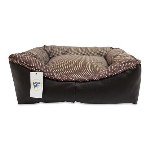 cama pet cachorro tamanho gg + 2 comedouros  100x80cm