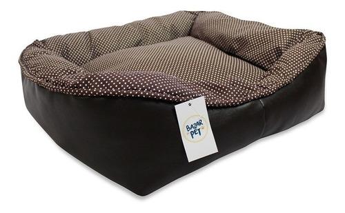 cama pet cachorro tamanho gg + 2 comedouros brinde  100x80