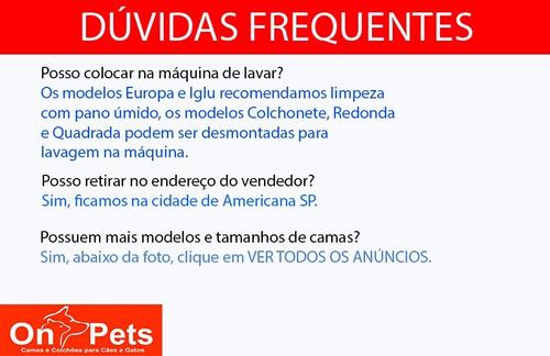 cama pet cão cães gatos europa p caminha cachorro