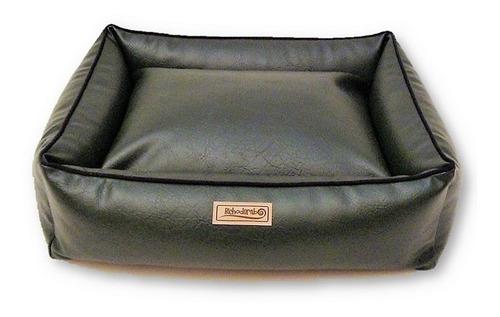 cama pet muito resistente impermeável couro brescia 60x60