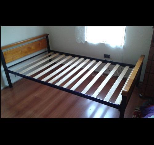 cama plaza y media