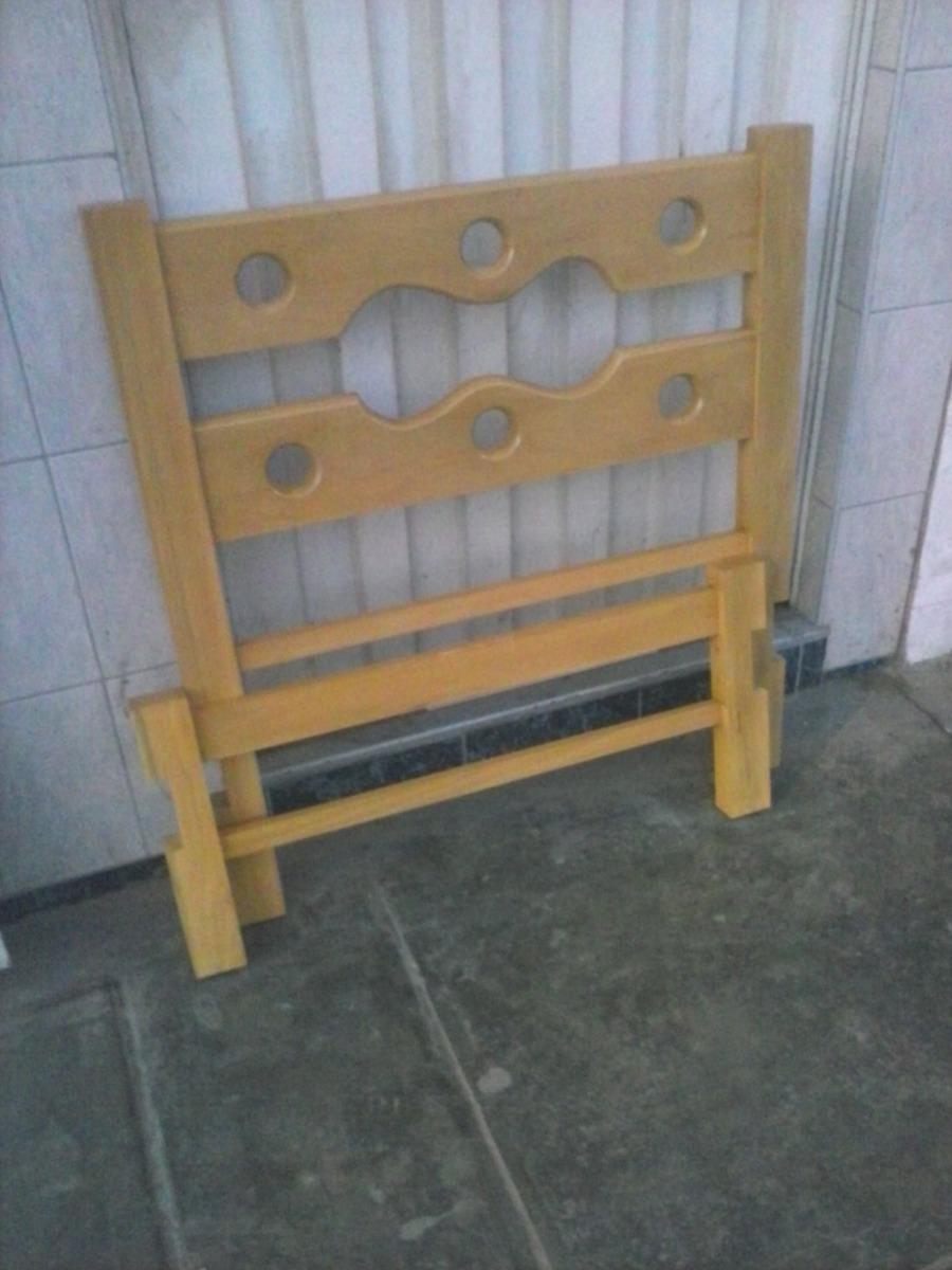 Cama plaza y media madera capirona nuevo s 189 00 en for Sofa cama de una plaza y media