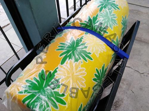 cama plegable 1 plaza + colchon de regalo nuevo tipo comodoy