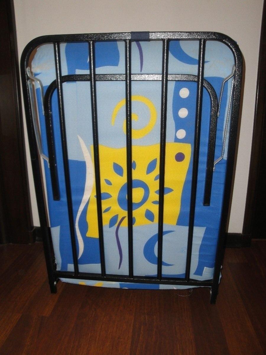 Cama plegable colch n de espuma s 140 00 en mercado libre - Colchon para cama plegable ...