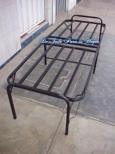 cama plegable una plaza+colchon regalo 100%nuevomod comodoy