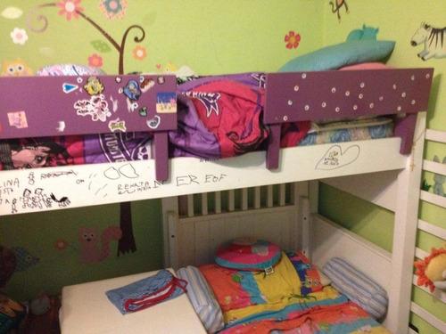 cama puente max diseño luna y estrella