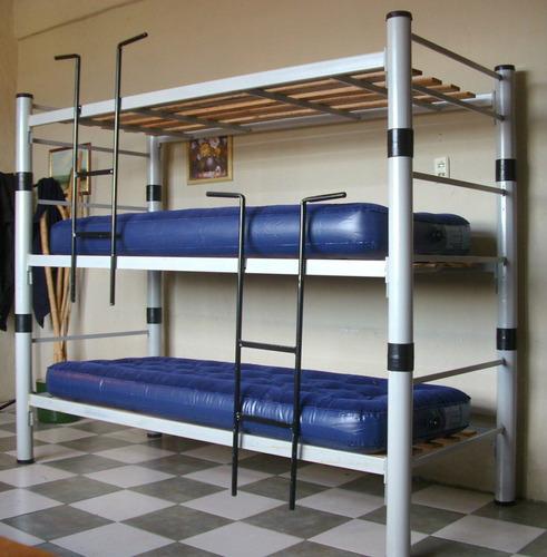 cama puente sin escritorio loft. 1,60 m de altura