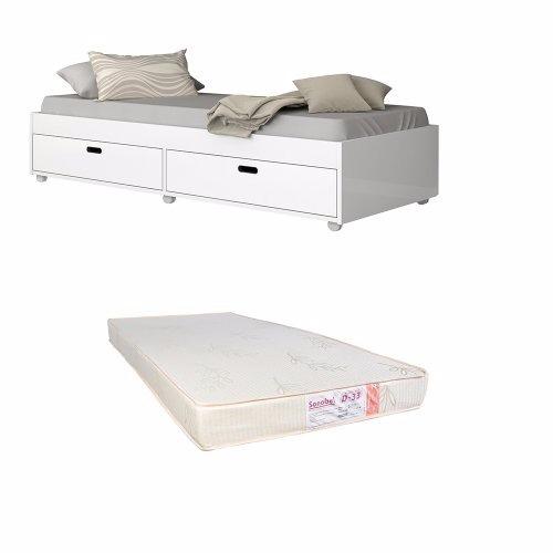 cama puff solteiro c/colchão d33 sofá babá curitiba